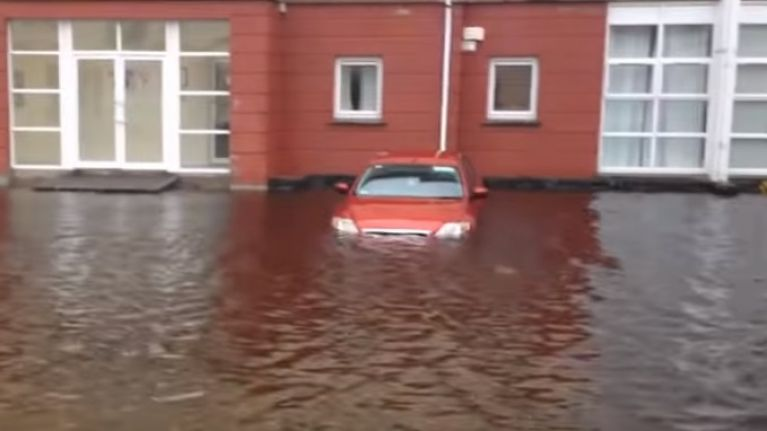 VIDEO: Just look at how bad the flooding has been in Leitrim this week