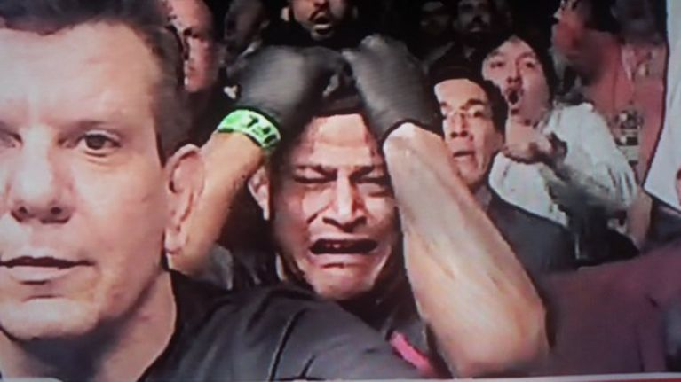 PICS: The looks of anguish on Jose Aldo's corner will be difficult to forget