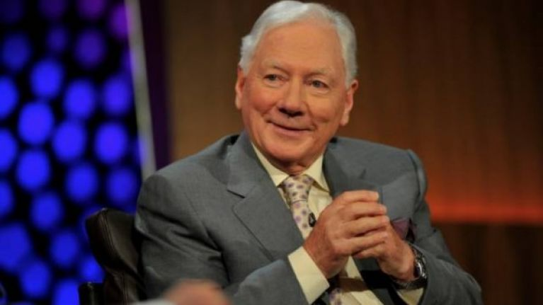 Broadcaster Gay Byrne was coming to the end of his