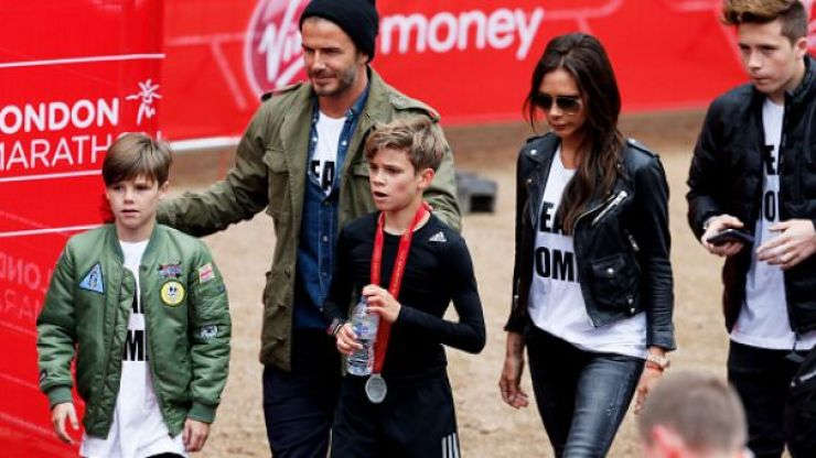 This is how much money the Beckhams made in 2015