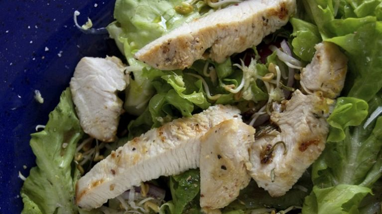 Pure and Simple Recipe of the Day: Cajun Turkey Salad with Guacamole