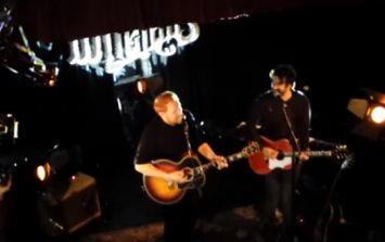 VIDEO: Gavin James and Danny from The Coronas singing Heroes And Ghosts