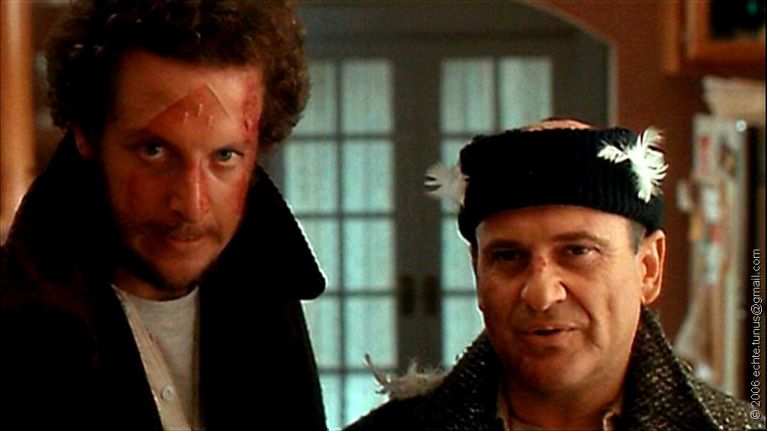 Image result for pesci and stern in home alone