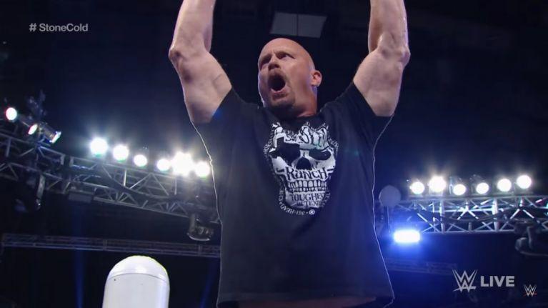 WATCH: Stone Cold Steve Austin among legends who returned on Monday Night Raw