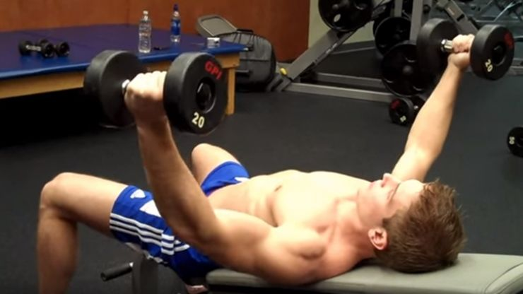 Easy Exercise of the Week: Incline Dumbbell Flyes