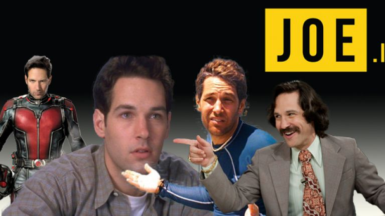 FEATURE: The five stages of Paul Rudd's brilliant career so far