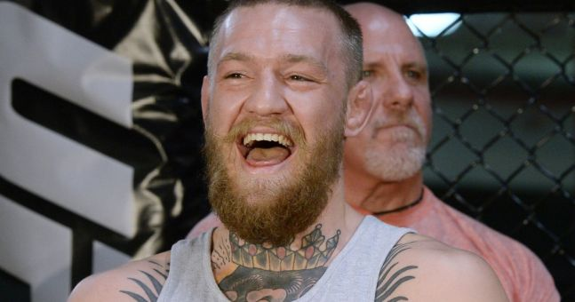 It'll be a clothes call for Conor McGregor as he decides on fight attire for Floyd Mayweather