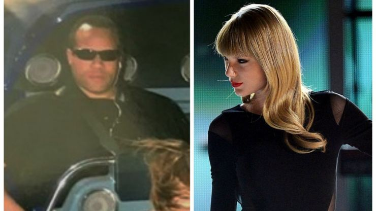 Taylor Swift's bodyguard pulls off one of the photobombs of the year in roller coaster snap