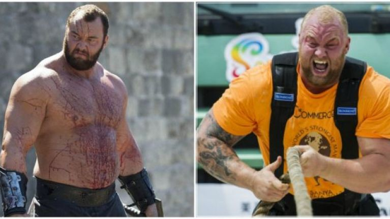 The Mountain from Game Of Thrones has revealed his HUGE diet and it's actually pretty healthy