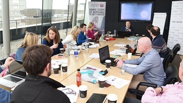 JOE speaks to AIB Start-up Academy finalist Mark Browne from Buska