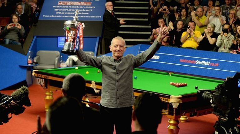 Snooker player Steve Davis is one of a number of great additions to the Castlepalooza line-up
