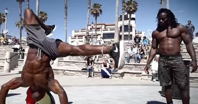 How these two West African guys got ripped with no gym, no weights and no protein shakes