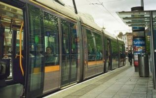 Man dies after colliding with a Luas tram