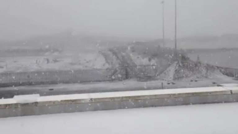 VIDEO: This is what the weather is like in Knock, County Mayo this evening