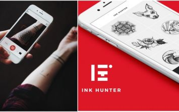 "VIDEO: A new augmented reality app lets you ""try out"" tattoos"