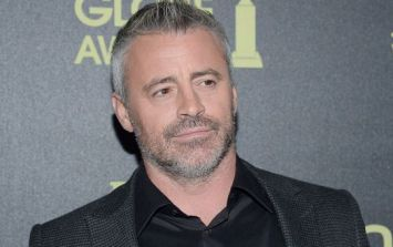 Matt LeBlanc has posted some very nice words about his time in Ireland