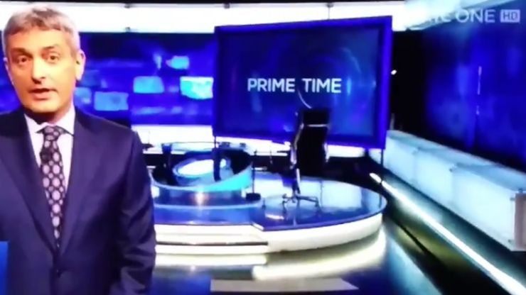 VIDEO: Prime Time honoured Prince's memory by playing Purple Rain over the end credits