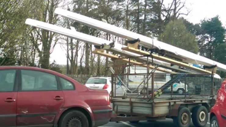 PIC: A contender for Ireland's laziest parking job has been found in Kerry