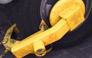 Sinn Féin confirm their party's policing spokesman removed a clamp from his car