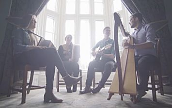 VIDEO: Irish band's cover of Elbow's 'One Day Like This' should really be heard on a day like this