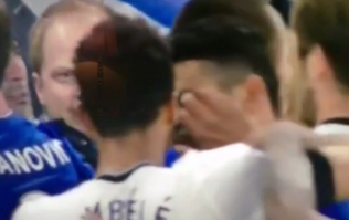 Chelsea vs Spurs turns nasty during scrap as Dembele seems to gouge Costa's eye