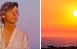 PIC: Mark Hamill AKA Luke Skywalker has fallen in love with this stunning Donegal photo