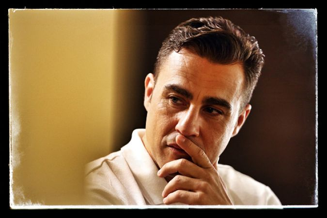 BANGKOK, THAILAND - DECEMBER 04:  (EDITORS NOTE: Image was created using digital filters.) Fabio Cannavaro is seen prior to a press conference for the Global Legends Series, at the Thailand Sports Authority, on December 4, 2014 in Bangkok, Thailand.  (Photo by Robert Cianflone/Getty Images)