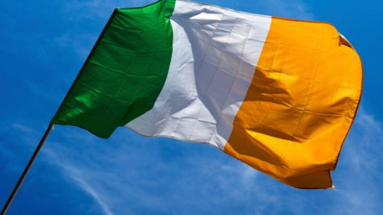 Flying the tricolour and other Irish flags could be a criminal