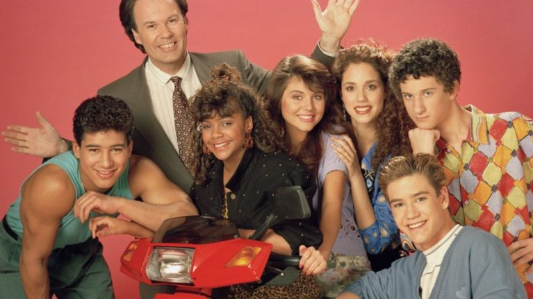 The Saved By The Bell cast had a reunion and it's nostalgia taken to The Max