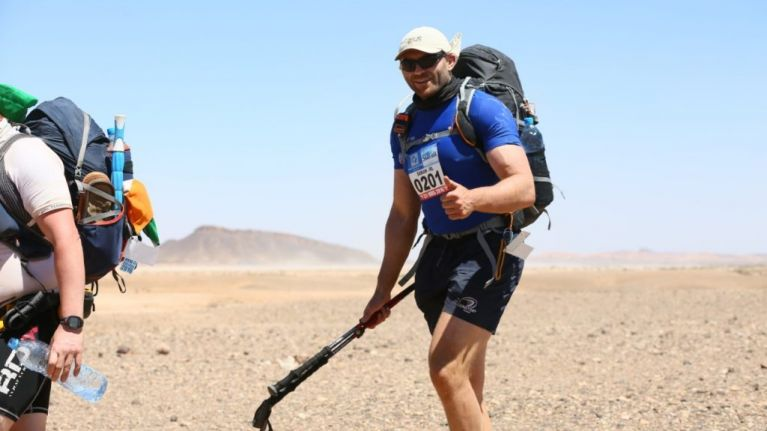 """Former Leinster and Connacht rugby star Damian Browne on taking on """"the toughest footrace on Earth"""""""