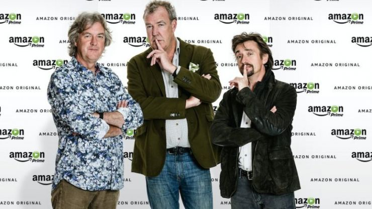 PICS: Jeremy Clarkson unveils name of his new Amazon motoring show