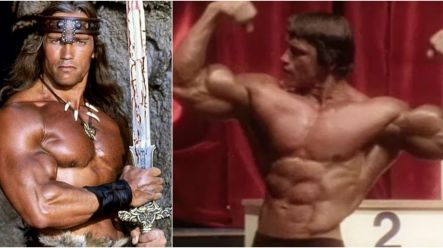 PIC: This is what Arnold Schwarzenegger looked like at just