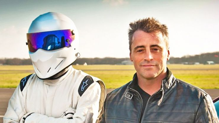 Matt LeBlanc may have just blown this sh*t wide open by unmasking the Stig