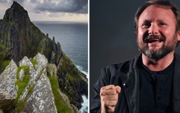 Star Wars director Rian Johnson has a lovely message to Ireland as Episode VIII wraps up shooting here