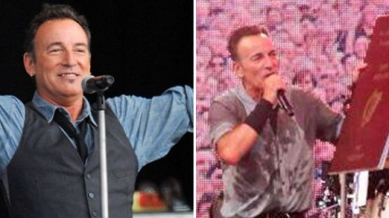 PIC: Definitive proof of Bruce Springsteen's Irish heritage and the county of his ancestors