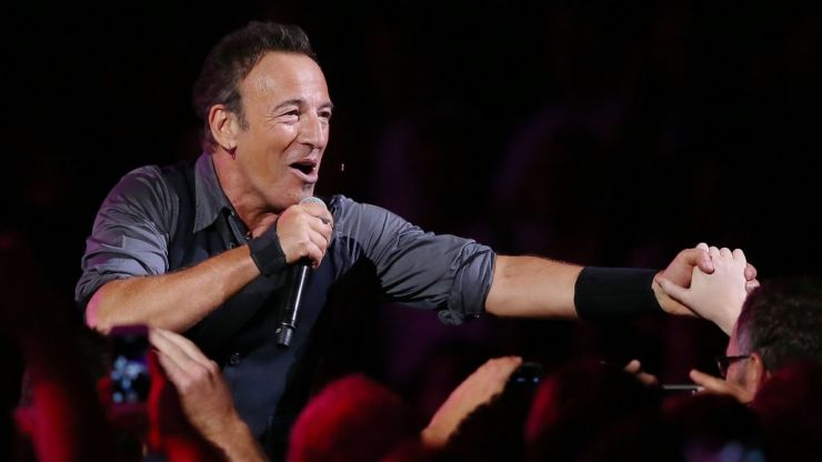 """WATCH: Bruce Springsteen's views on the label of """"the next big thing"""" in music are gold"""