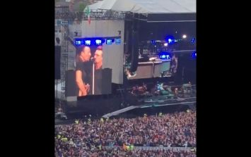 WATCH: Bruce Springsteen was joined on stage by a very special guest in Croke Park