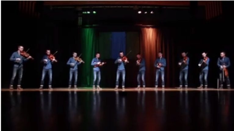 WATCH: Armagh fiddle player performs amazing 'Put 'Em Under Pressure' cover for Euro 2016