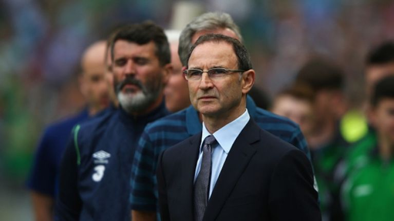 Martin O'Neill releases statement following Irish departure