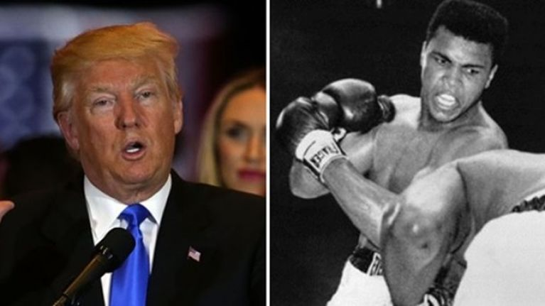 An old tweet from Donald Trump has seriously backfired following the sad passing of Muhammad Ali