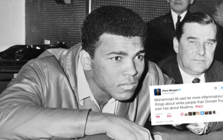 Piers Morgan wins Idiot of the Day award (again) with disrespectful tweet about Muhammad Ali