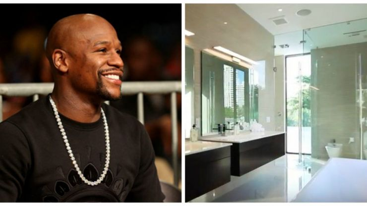 VIDEO: Take a look inside Floyd Mayweather's new $7.7m mansion