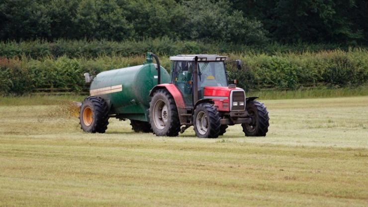 PIC: This farmer doesn't give a f*ck about the car parked in his field