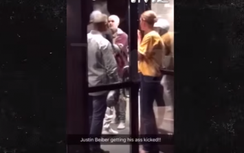 VIDEO: Footage shows Justin Bieber throwing a punch then getting thrown to the ground