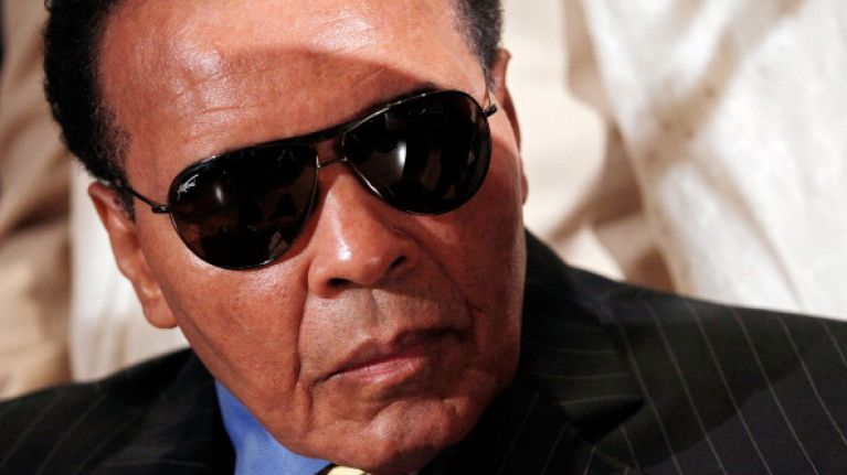 Muhammad Ali has been admitted to hospital for a respiratory issue