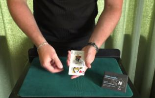 VIDEO: Can you begin to explain how this trick is done? Because we can't