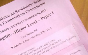 PIC: Leaving Cert student celebrates completing English paper with appropriate tattoo