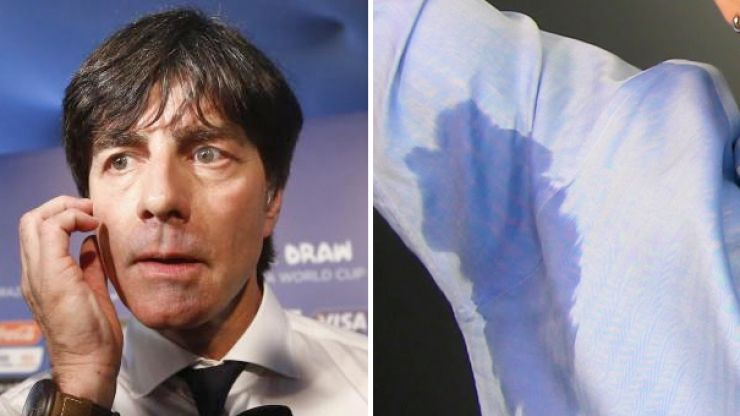 Viewers can't get over Joachim Low's sweaty pits during Germany vs Ukraine