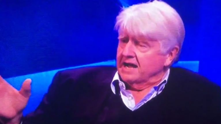 Boris Johnson's father has used a racial slur about Ireland on live TV