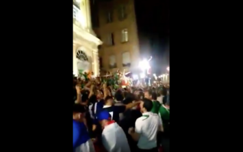 VIDEO: Irish fans really don't want to go home from France
